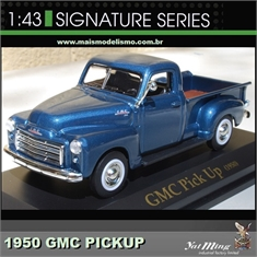 1950 - GMC PICK-UP Azul - Yatming - 1/43 - 1950 - GMC PICK-UP AZUL - Yatming - 1/43