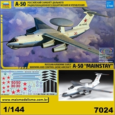 Russian Airborne (AEW) A-50 MAINSTAY - Zvezda - 1/144 - Russian Airborne A-50 MAINSTAY - Zvezda - 1/144