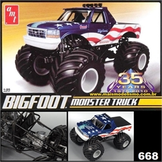 Ford Bigfoot Monster Truck - AMT - 1/25 - BIGFOOT MONSTER TRUCK - AMT - 1/25