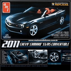 2011 - Chevy CAMARO SS/RS Conversível - AMT - 1/25 - 2011 - CHEVY CAMARO SS/RS CONVERTIBLE - AMT - 1/25