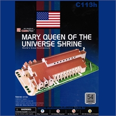 MARY, QUEEN OF UNIVERSE SHRINE - Cubic Fun