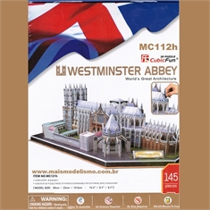 WESTMINSTER ABBEY - Cubic Fun - MC121h - WESTMINSTER ABBEY - Cubic Fun