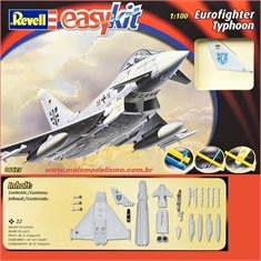 Eurofighter TYPHOON - Revell easy kit - 1/100 - EUROFIGHTER TYPHOON - Revell easy kit - 1/100