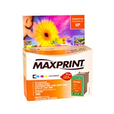 Cartucho MAXPRINT similar HP Inkjet CB338WL (75XL) color