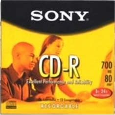 MÍDIA SONY CD-R GRAVÁVEL 700MB 48X 80MIN - BOX