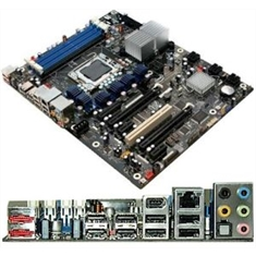 Placa mãe INTEL slot LGA1366 DX58SO Extreme p/ processador i7 com som/lan integrados - Placa mãe Intel Extreme DX58SO p/ I7 LGA-1366 som e lan