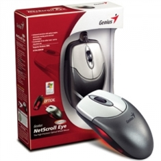 Mouse GENIUS PS/2 optico Netscroll Eye Metallic