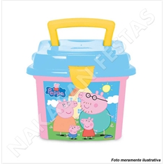(AB) MINI BOX PEPPA 1L (R:4683) - 01UN - (AA) MINI BOX PEPPA 1L ROSA (R:4683) - 01UN