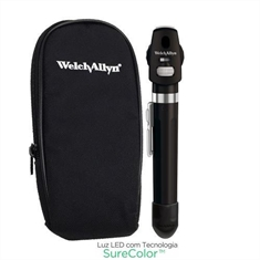 Oftalmoscópio Welch Allyn Pocket Led 12880 Onix Preto - 12880BLK