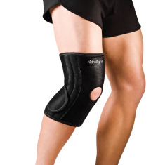 Joelheira Neoprene C/ Molas Flexiveis Ajustavel Hidrolight	 - OR-59