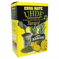 Erva Mate Uhde Abacaxi 500g