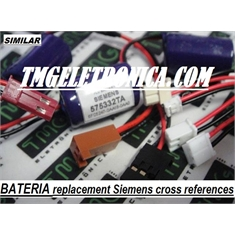 575332TA - Bateria 3V Lithium PLC Controladores Logicos PLC, CPU, Batteries Replacement Similar tipo 575332TA (ORIGEM China) - Similar tipo 575332TA - Batteries Replacement (ORIGEM China)