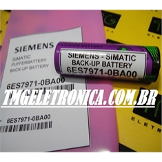 6ES7971-0BA00 - BATERIA Siemens Simatic S5, Back-up PLC, Batteries Siemens Simatic S5 and S7-400 control systems, 6ES53770BA31, 6ES5980-0AE11, 6ES7971-0BA00, 6ES7 971-0BA00, Simatic S5 and S7-400 - 6ES7971-0BA00 - BATERIA Siemens Simatic S5 PLC controls S7-400