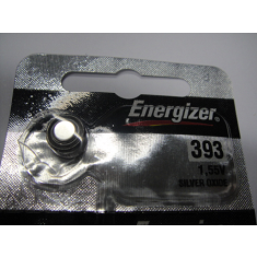 393/309 - Bateria para Relógios 393/309 - Button Cell Batteries Watches - 393/309 - Battery Watch/ ENERGIZER