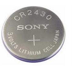 CR2430 - Bateria Lithium 3Volts, Tipo Moeda, Botão, CR2430 Battery 3.0V Lithium, Battery Coin, Button Cell Batteries, Coin Battery - CR2430 SEM Terminal - SONY