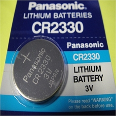 CR2330 - Bateria Lithium 3Volts, Tipo Moeda, Botão, CR2330 Battery 3.0V Lithium, Battery Coin, Button Cell Batteries, Coin Battery - CR2330 - PANASONIC