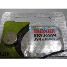 SR936 - Bateria para Relógios SR936SW - Button Cell Batteries Watches - SR936SW - Battery Watch/ MAXELL