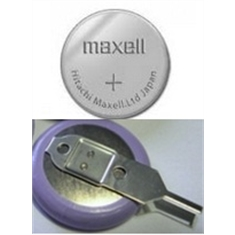 CR1216 - Bateria Lithium 3Volts, Tipo Moeda, Botão, CR1216 battery, 3.0V Lithium battery, button Type, coin battery - CR1216 C/ TERMINAL - MAXELL