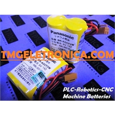 BR-AGCF2W - Bateria 6Volts Lithium Panasonic BRAGCF2W Backup,Genuine FANUC A98L-0031-0011 Parts,Cutler Hammer A98L00310011 Battery 6V PLC,CNC,MACHINE - PRODUTO Similar/equivalente TIPO = BR-AGCF2W  6Volts / CHINA