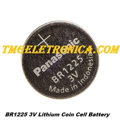 BR1225 - BATERIA Lithium, BR-1225 Battery Coin 3V 48MAH High Temperature batteries, Non-Rechargeable - BR-1225 - Battery Panasonic Coin 3V High Temperature