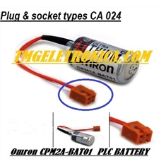 CPM2A-BAT01 - Bateria Omron CPM2A Series CPM2ABAT01, OMRON ZEN-BAT01 PLC BATTERY FOR CPM2ABAT01, PLC Omron Automation Voltage 3.6V - PLC, CPLS, IHMs - Bateria Back-Up - Bateria Similar Tipo Omron CPM 2A-BAT01 - Origem China