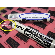 CR2NP - Bateria lithium 3V, CR2NP, Industrial lithium MICROBATTERY CR2 NP 1.5Ah - Ø11.5x59.5mm, 1500mAh - CR2NP = Fabricante VARTA - ORIGINAL GERMANY