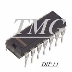 7438N - CI NAND Gate 4-Element 2-IN Bipolar 14-Pin PDIP