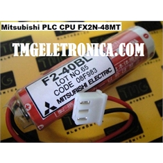 F2-40BL - BATERIA 3,6V Lithium Thionyl Chloride, Mitsubishi F2XN seriesPLC controllers F2-40BL, FX2N-48M, FX2N-32MR, BATTERIES BACK-UP CPU,Machine,robot,PLC & CNC - F2-40BL, FX2N-48M PLC Mitsubishi PLC battery / GENUINE Maxell Japan