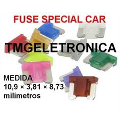 FUSÍVEL MINI ELEMENTO CURTO,Fusivel Lamina,fusível Automotivo Micro Mini Fuse 9Mm X 11Mm, Fuse Micro Blade Fuses Automotive Car Truck,Fusível - Super mini,Fuse - 1 Á 40 Amperes / 32Vdc, BAIXO PERFIL - FUSÍVEL MICRO/MINI ELEMENTO CURTO 25AMPER/TRANSPARENTE