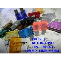 Fusivel Lamina,fusível Automotivo ATC Medio 19Mm X 12Mm, Fuse MAXI, Blade Fuses Automotive Car Truck ,Car Audio and Video,Fuse - 1 Á 40 Amperes / 32Vdc - Fuse Lamina Automotivo Medio ATC - 25Amper / 32Vdc
