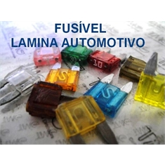 Fusivel Lamina,fusível Automotivo ATM MINI 11Mm X 8,7Mm, Fuse MAXI, Blade Fuses Automotive Car Truck ,Car Audio and Video,Fuse - 2 Á 30 Amperes / 32Vdc - Fuse Lamina Automotivo Mini ATM - 2Amper / 32Vdc(ESPECIAL)