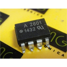 A2601 - CI Optocoupler Logic-Out Open Collector DC-IN 1-CH 8-Pin PDIP SMD