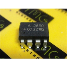 A2630 - CI Optocoupler Logic-Out Open Collector DC-IN 1-CH 8-Pin PDIP SMD