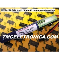 HHR-15L2G1 - BATERIA 2.4V 1500mAh rechargeable battery pack Tool Battery,?	Bateria recarregavel HHR-15L261 2.4V 1500mAh (battery pack BP-5)