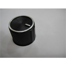 KNOB BASE 21mm TMG 217 PRETO