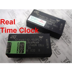 M48T12,MK48T12 - CI SRAM TIMEKEEPER,Real Time Clock 16K (2Kx8) ns  DIP24PINOS - M48T12-150PC1 , Speed 150NS