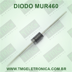 MUR460 - Diode Super Fast Rectifier 600V 4A 2-Pin DO-201AD - MUR460