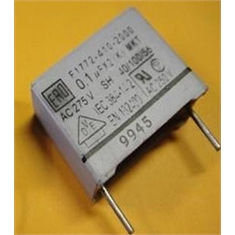 100K 275V CAPACITOR POLIESTER RADIAL,Polyester Suppression Capacitors Class: X2