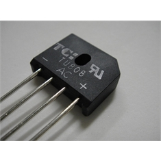 KBU8 - PONTE DE DIODO RETIFICADORA, BRIDGE RECTIFIER Single 1000V 8A
