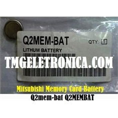 Q2MEM-BAT - Mitsubishi MELSEC Q series Q2MEM-bat, Q2MEMBAT, Battery for Memory Card , High Temperature, Q2MEM-BAT  PLC - Q2MEM-BAT MELSEC Q series - Mitsubishi, High Temperature