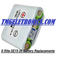 SE15-126 - Bateria SE15-126, X-Rite 500 Series Battery SE15-126, X-Rite 500 Series X-Rite 504, 508, 518, 520, 528, 530 Spectrodensitometers; Accurate Measurement - Replacement Parts - BATERIA SE15-126 - X-Rite 500 Series