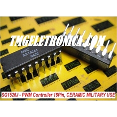 SG1526J - CI PWM Controller Switching Controller CERAMIC  MILITARY  500KHZ Voltage 100Ma DIP-18Pin - SG1526J - CI PWM Controller, SWITCHING - Dip 18Pin CERAMICO