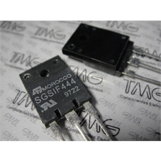SGSIF444 - HIGH VOLTAGE FAST-SWITCHING NPN