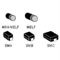 SMBG100 - Diodo Zener Suppressors Transient, Diode TVS,Transzorb Single 100Volts 600W - 2Pinos SMBG/ DO-215AA / Uni-Directional ou Bidirectional - SMBG110A - Diodo TVS,Transzorb Single 100Volts 600W / UNI-DIRECIONAL - DO-215AA-2 (SMBG)
