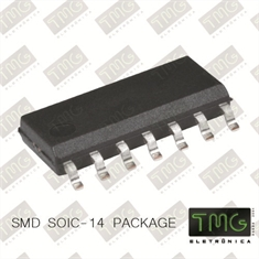 74LS74A - CI Flip Flop D-Type Pos-Edge 2-Element SOIC-14Pin