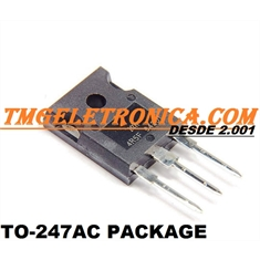 BUV48 - Transistor POWER BIPOLAR TRANSISTOR, NPN Bipolar BJT High Volt Power - TO-247 - BUV48A - TRANS Bipolar Junction, NPN 450V 15A