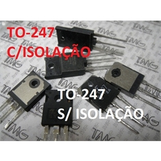 C4429 - TRANS NPN SILICON 1100V 12A /HIGH SPEED SWITCH - 2SC4429 - ISOLADO