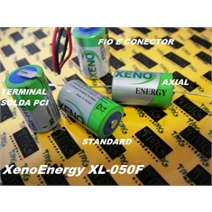 XL-050F - BATERIA LITHIUM 3,6V 1/2 AA 1.2Ah,XENO-ENERGY, XL-050F Lithium Thionyl Chloride (Li-SOCI 2) Battery XL-050F-AX - XL-050F-AX - Term.Axial