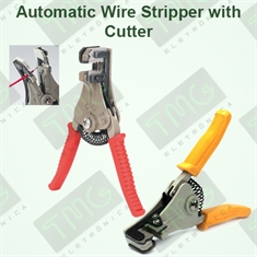 ALICATE DECAPADOR DE FIO AUTOMÁTICO  - TMG-700 Automatic Wire Stripper with Cutter - ALICATE DECAPADOR - CABO COR AMARELA