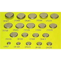 CR2032 - BATERIA LITHUM 3V TIPO BOTÃO Coin & Button Cell - CR2032 - IMPORTADA